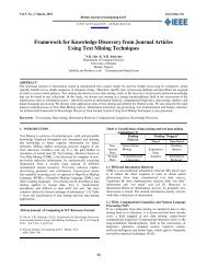 Framework for Knowledge Discovery from Journal Articles Using ...
