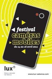 Catalogue du Festival Caméras mobiles 2011 - Quidam production