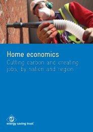 Home economics Home economics - Energy Saving Trust