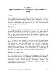 Chapter 6 Opportunities for Seniors - Ministry of Social and Family ...