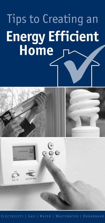 Energy Efficient Home - Jackson Energy Authority