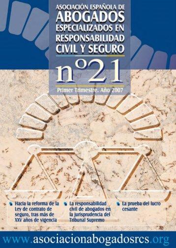 Revista nº 21, 1º trimestre año 2007 (PDF 4.4 Mb) - Asociación ...