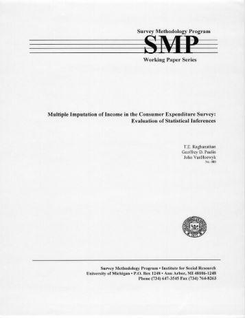 thesis survey methodology