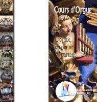 Cours d'Orgue - Union Sainte Cécile