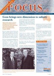 Focus on Salt issue 21 - Land and Water Australia