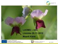 Luomuinfo MTT Ruukki (M.Kärki).pdf - ProAgria Oulu