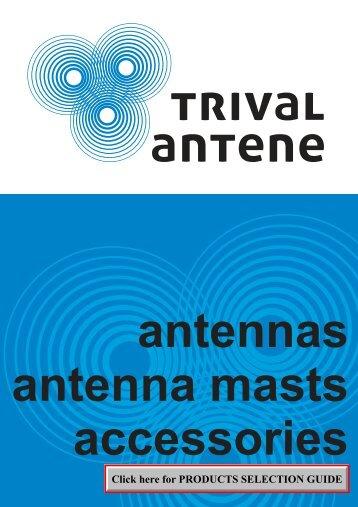 antennas antenna Masts - Trival Antene