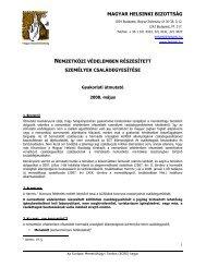 Gyakorlati útmutató - Magyar Helsinki Bizottság