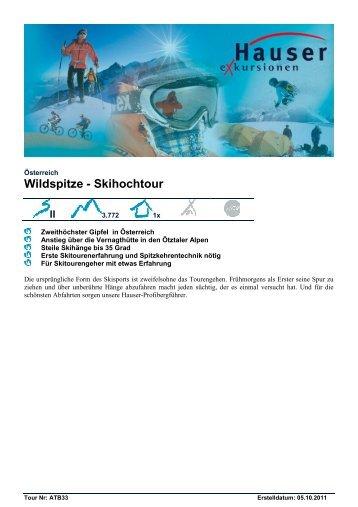 Wildspitze - Skihochtour
