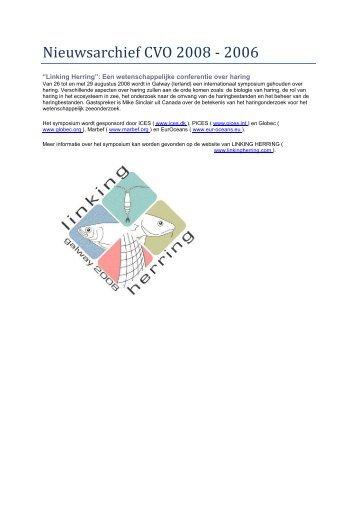 Nieuws CVO 2008 - 2006 - Wageningen UR
