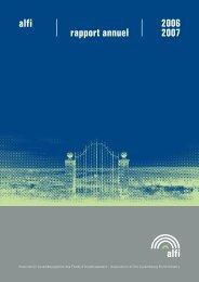 alfi alfi rapport annuel 2006 2007