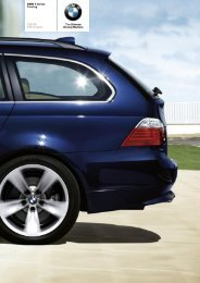The BMW 5 Series 525i Touring - Vines
