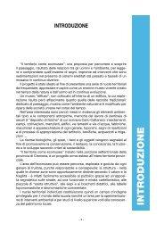 INTRODUZIONE - Il territorio come ecomuseo - Provincia di Cremona