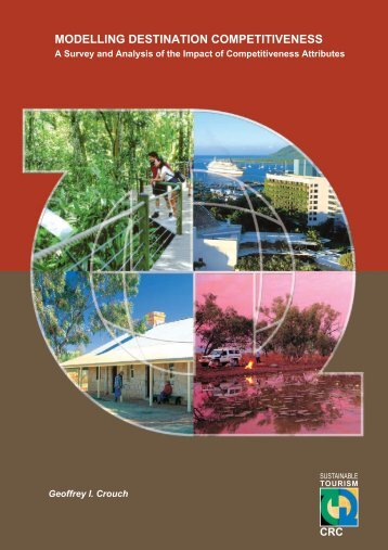 Modelling destination competitiveness - Sustainable Tourism Online