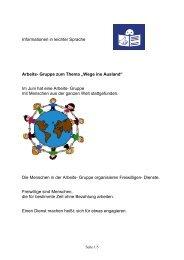 Information in leichter Sprache - bezev eV
