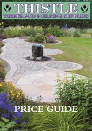 to see our Price Guide 2012 - Thistle Timber & Building Supplies
