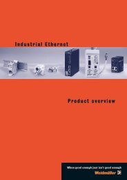 Product overview Industrial Ethernet - Wexøe.dk