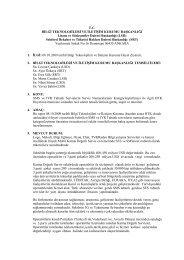 SMS ve IVR Servislerinin Kategorileştirilmesi - Mobilsiad