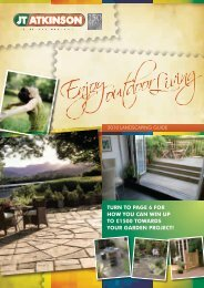 JT Atkinson 2010 Landscaping Guide - JT Atkinson & Sons Ltd