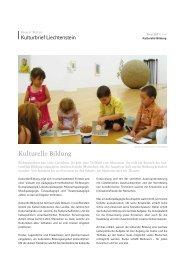 Ausgabe ZWEI/2011 - Regierung des Fürstentums Liechtenstein