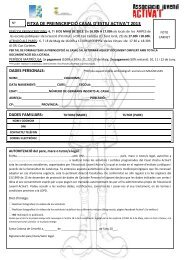 Full preinscripció per infants Casal AMPA Pla de les Vinyes