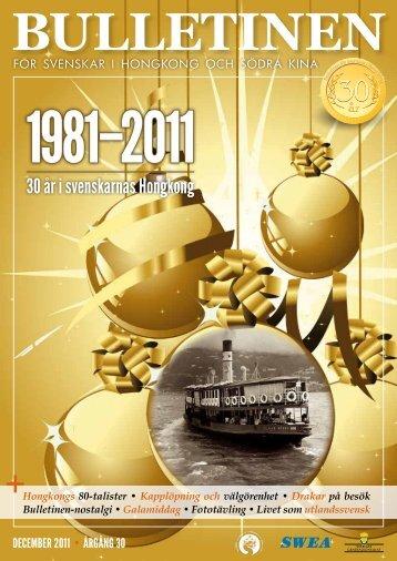 bulletiNeN december 2011 - The Swedish Chamber of Commerce in ...