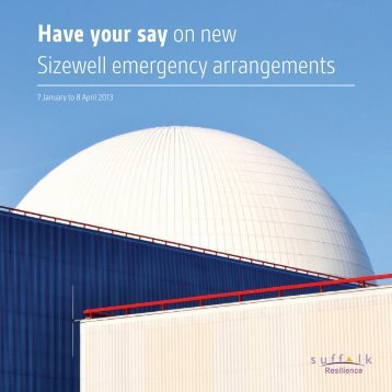 Sizewell Consultation.pdf - Suffolk County Council