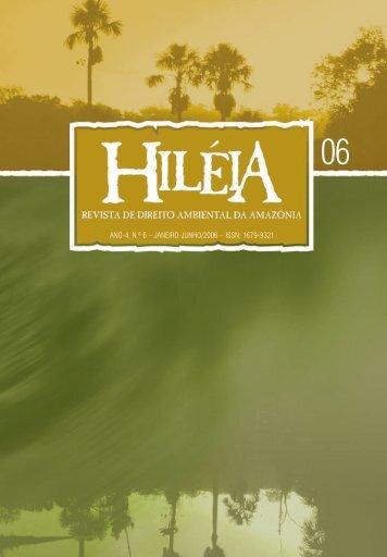 Hiléia - Edição Nº. 6 - uea - pós graduação
