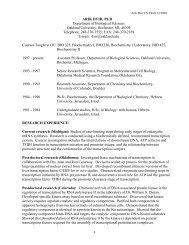 ARIK DVIR, Ph.D - Oakland University