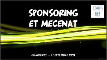Présentation mécénat septembre 2012 - Commercy