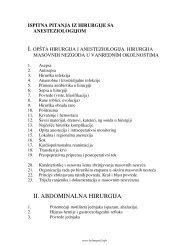 Hirurgija – ispitna pitanja [stara].pdf - Beli Mantil