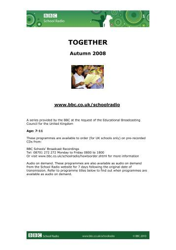 Together – Autumn 2008 - BBC