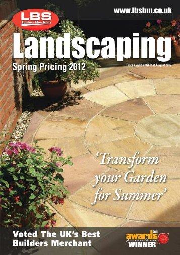 LBS Landscaping 2012 - LBS Builders Merchants