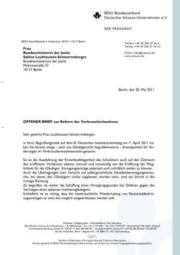 Artikel 1 Bis 3 Bundesverband Deutscher Inkasso Unternehmen Ev