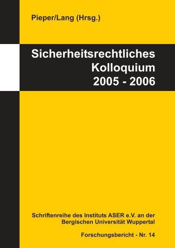 Download (PDF-Datei 3,8 MB) - und Qualitätsrecht - Bergische ...