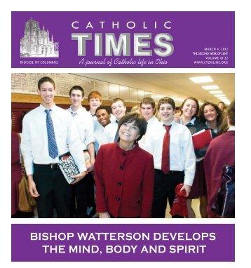 catholic bishop watterson develops the mind, body and spirit