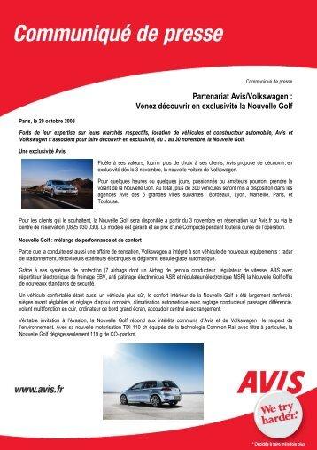 CP Avis-Volkswagen