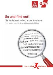 Go and find out! - bei WAP! - IG Metall