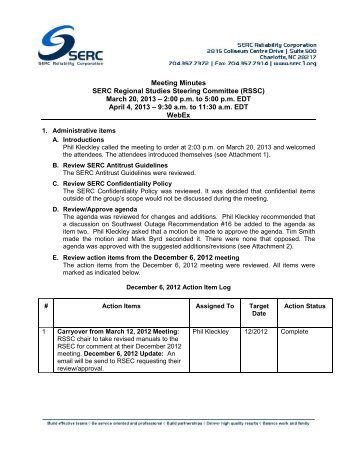 SERC RSSC Meeting Minutes (03-20-13) WebEx.pdf - SERC Home ...