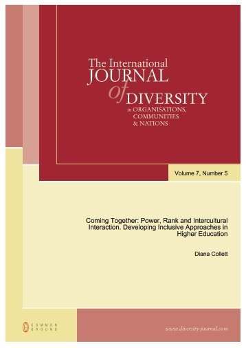 Coming Together – Diversity Journal - Process Work Institute