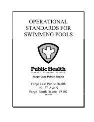 Swimming Pool Codes - City of Fargo