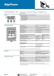 Datenblatt RAYSTAT-CONTROL-11 - HENNLICH GmbH & Co KG