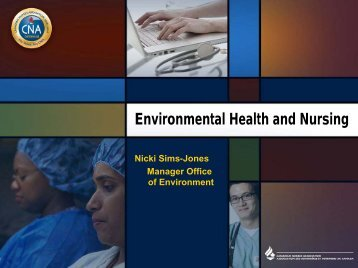 Environmental Health and Nursing - Community Health Nurses ...