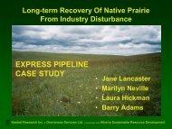 Long-term Monitoring of Kinder Morgan's Express Pipeline ...