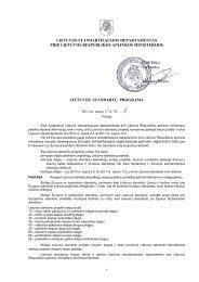 lietuvos standartizacijos departamentas prie lietuvos respublikos ...