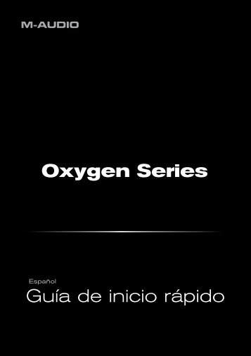 Guía de inicio rápido • Oxygen Series - M-Audio