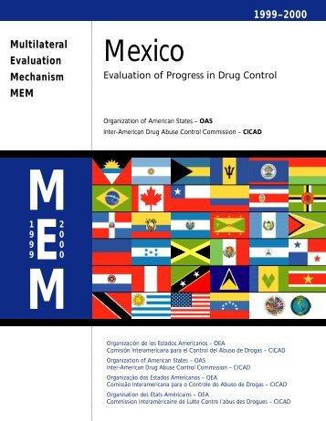 M e x i c o - cicad - Organization of American States
