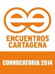 convocatoria encuentros cartagena - Gerencia de Asuntos ...