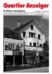 Ausgabe 4, Mai 2011 - Quartier-Anzeiger Archiv