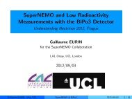 SuperNEMO and Low Radioactivity Measurements with the BiPo3 ...